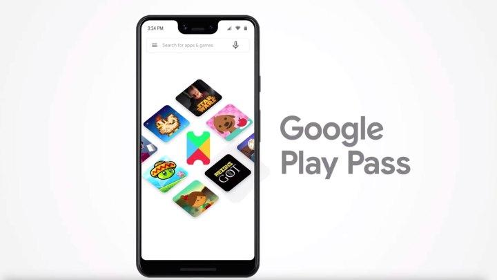Serviço de assinatura para apps e jogos Google Play Pass