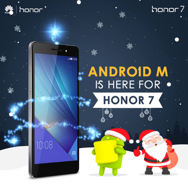 Huawei Honor 7 Android Marshmallow