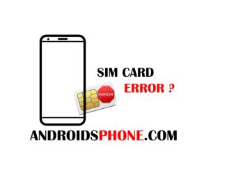 Cara Mengatasi Kartu Sim Card Error Tidak Terbaca atau Terdeteksi