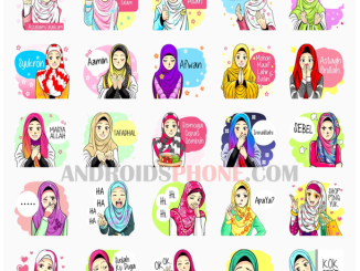 Download Sticker Cute Hijab Islamic Apk For Whatsapp