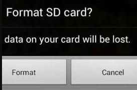 """Cara Mengatasi """"Kartu micro SD tidak diformat"""""""