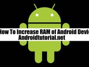 increase ram of android device