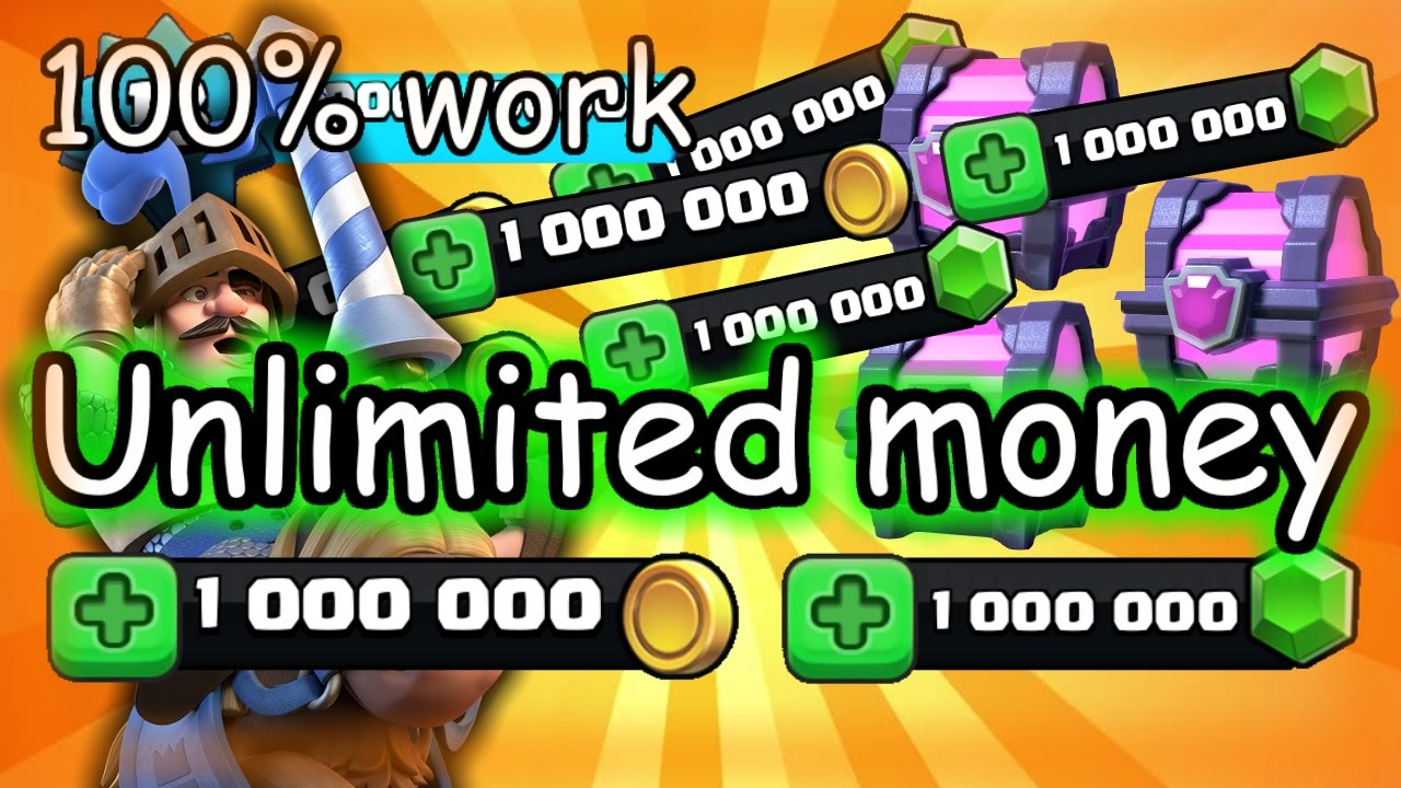 apk clash royale unlimited gems