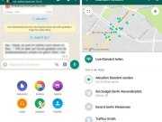 Share whatsapp location in real time