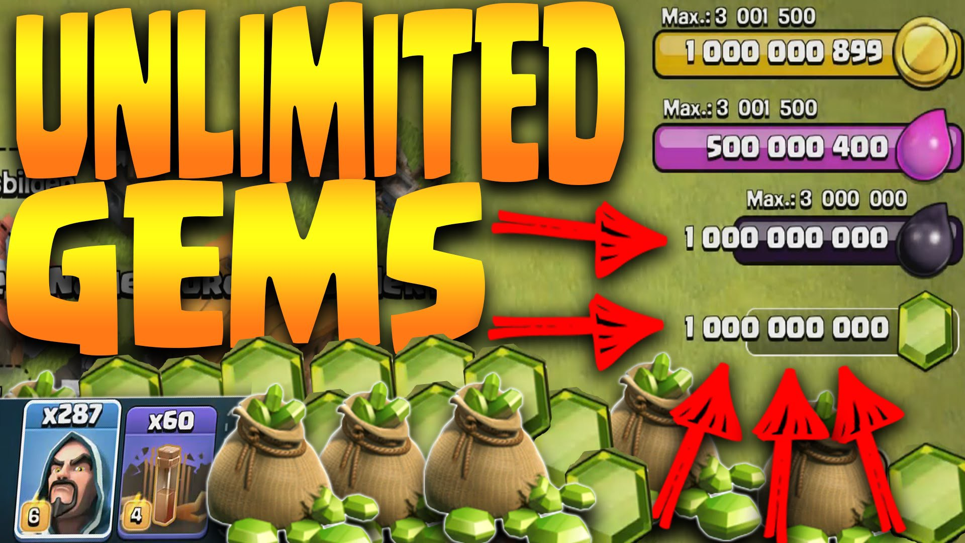 android 1 clash of clans unlimited gems apk