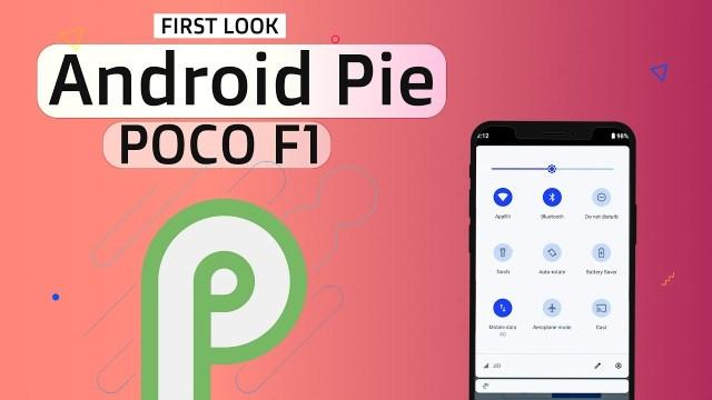 Android 9.0 Pie on Xiaomi Poco F1