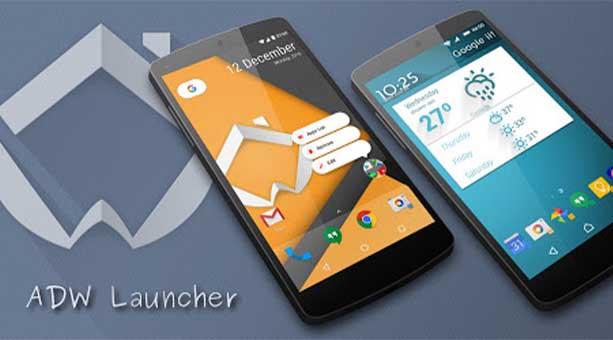 android tema uygulaması ADW Launcher 2 2020
