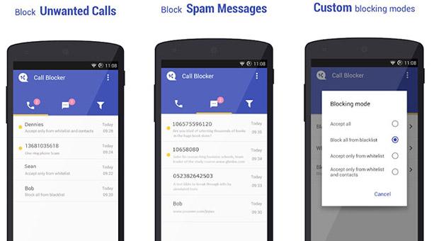 Call Blocker ile arama veya mesajları engelleme 2020