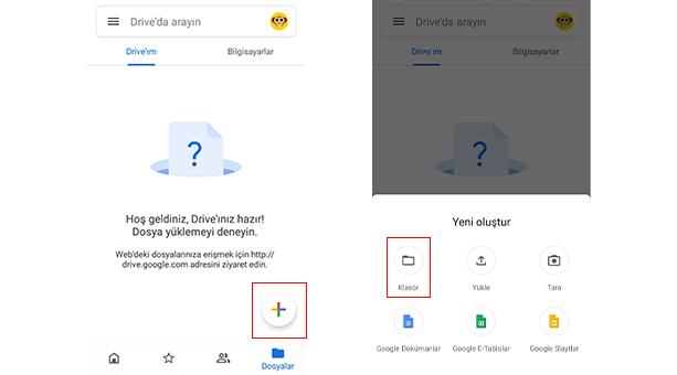google drive dosya düzenleme ve silme 2020