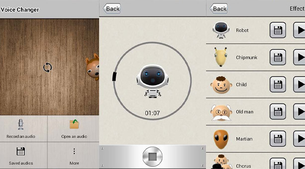 AndroidRock Ses Değiştirici