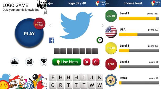 bilgi yarışması uygulaması  Quiz: Logo Oyunu