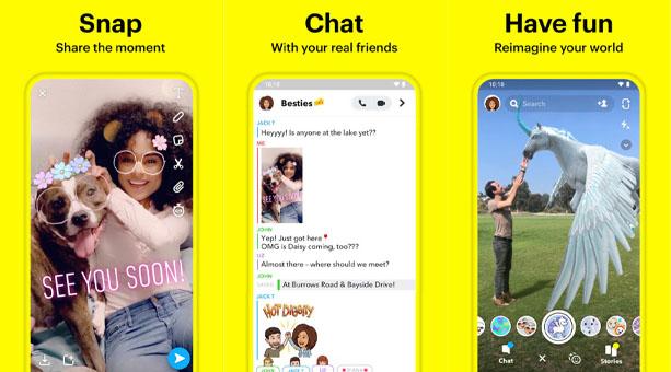 ses değiştirme uygulaması Snapchat