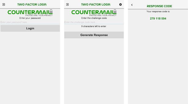 güvenli mail CounterMail