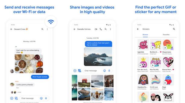 en iyi sms uygulamaları Google Messages