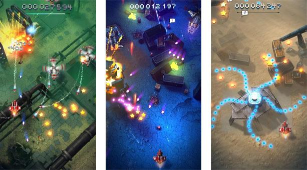 Sky Force Reloaded mobil aksiyon oyunu