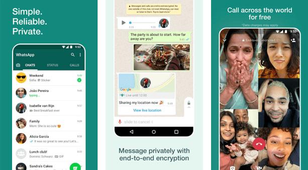 en popüler mesajlaşma ve sohbet uygulaması WhatsApp