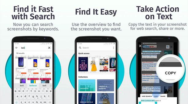 ekran görüntüsü alma uygulaması Firefox ScreenshotGo Beta