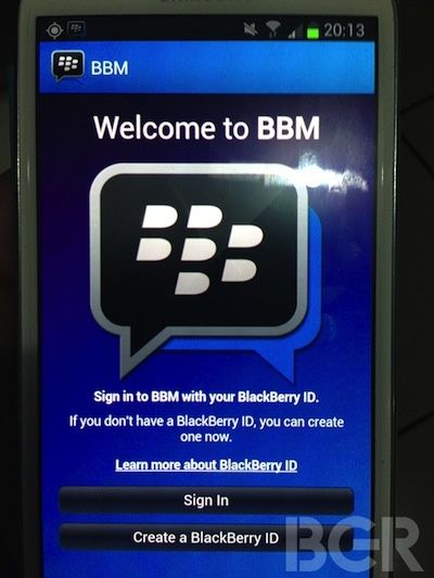 BlackBerry Messenger Android-6