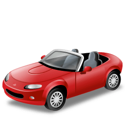 Αυτοκίνητο κόκκινο