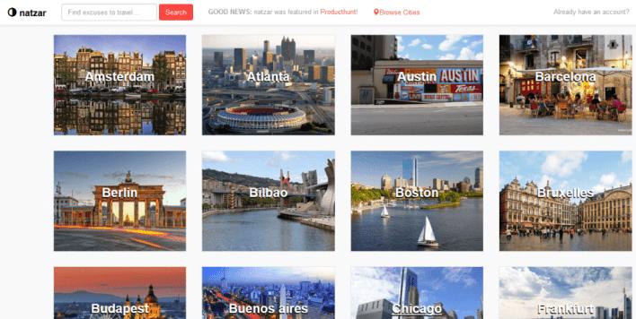 موقع جديد للسفر إلى مختلف دول العالم بطريقة مبتكرة و مميزة
