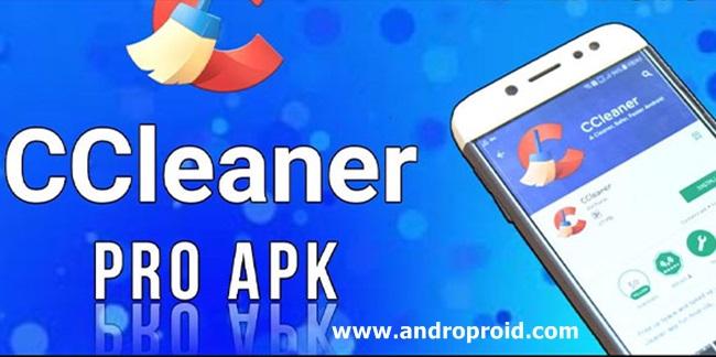 تطبيق تنظيف الهاتف CCleaner للاندرويد
