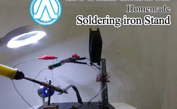 How to Make an All in One Homemade Soldering Stand Andro Root