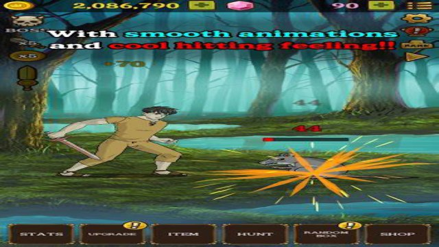 Monster Hunter Clicker Mod Apk Unlimited Money Download hack Free for Android happy pure 1 gems RPG Idle game