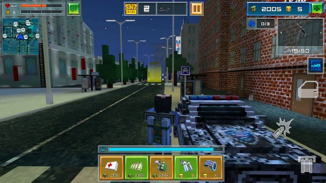 Block City Wars Mod Apk Unlimited Money God Full Gameplay for Android full health happy 1 pure gameplay latest 0