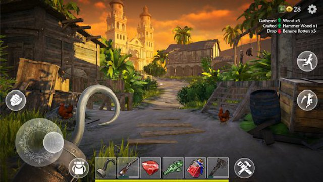 Last Pirate Survival Island Mod APK Gameplay Free Download Android craft unlimited all money app 1 happy pure hack 7