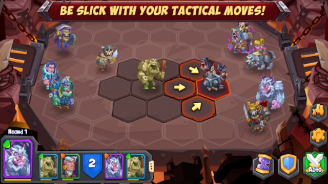 Tactical Monsters Rumble Arena APK + Mod ( Free Download ) unlimited money wiki cheat engine tier list 1 gameplay Android 0