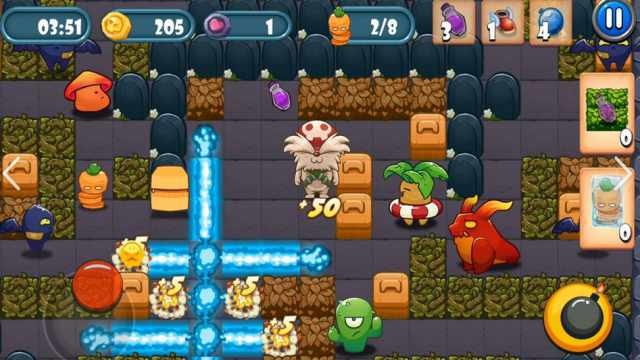 Bomber Classic Mod Apk Unlimited Money + god mode No ads Android latest version Bomberman happy pure 1 gameplay 7