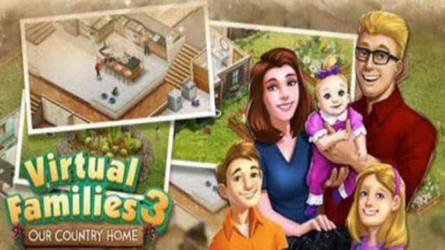 Virtual Families 3 Mod Apk Unlimited Money free download Android latest version tools unlocked happy 8 gameplay