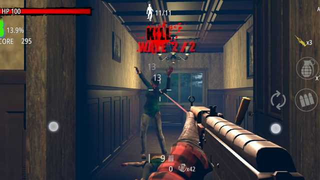 Zombie Hunter D-Day Mod APK Unlimited Money Gold + Free download for Android everything latest version 1 happy 6