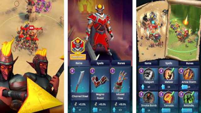 Ancient Battle mod apk unlimited money + free download Android latest version happy 8 game gameplay