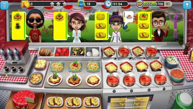 Food Truck Chef Mod Apk Unlimited Money and gems + coins Android download free latest 8 gameplay