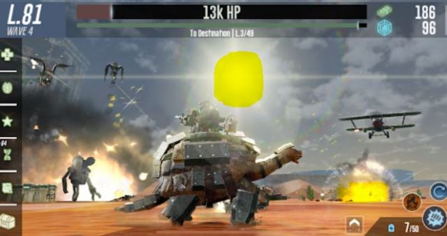 War Tortoise 2 Mod Apk Unlimited Money free download latest Android happy 1 pure APK+OBB data version gameplay 8Capture