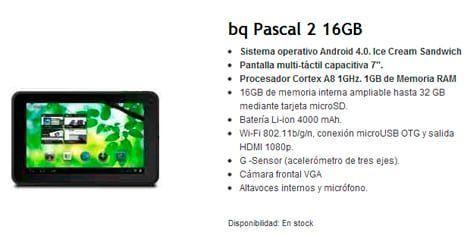 BQ Pascal 2 16GB