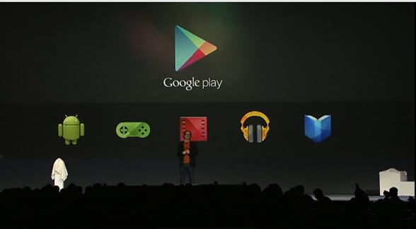 Google Play en Jelly Bean