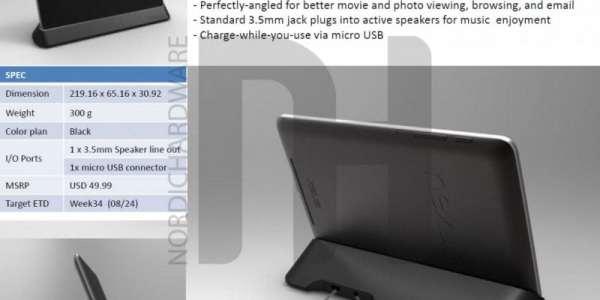 Dock for Nexus 7