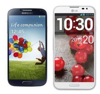 Galaxy S4 vs Optimus G Pro