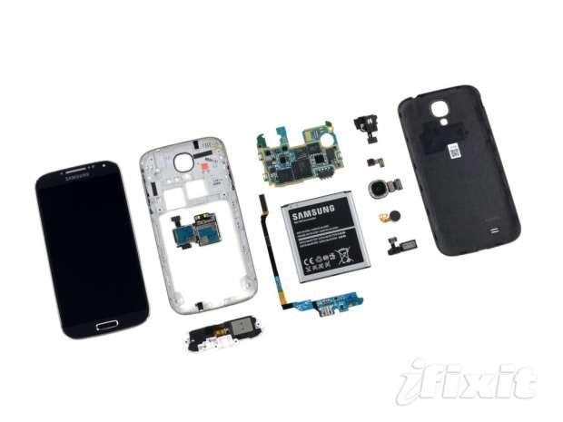 Galaxy S4 componentes
