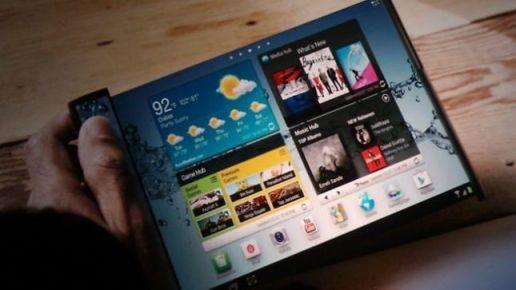 Samsung Flexible Displays