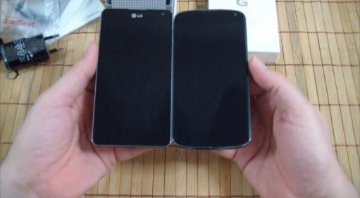 Optimus G frente al Nexus 4