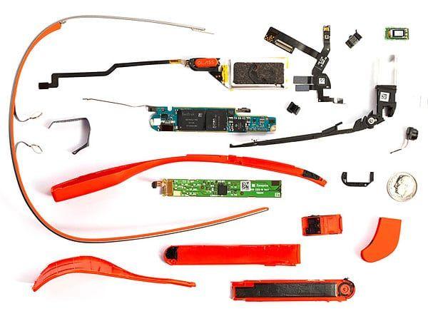 Google Glass despiece