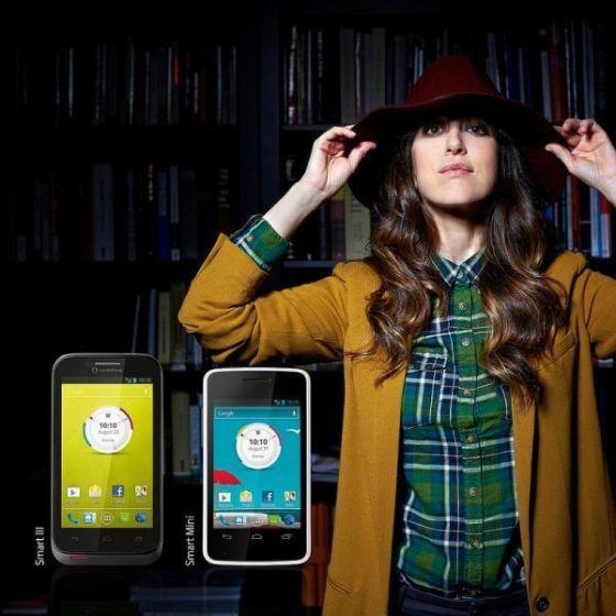 Vodafone y Nena Daconte