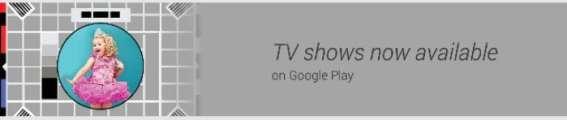 Google TV Show