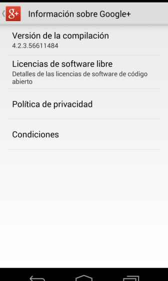 Google+ 4.2.3 3