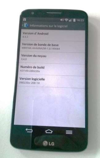 LG G2 D802 Android 4.4.2 KitKat