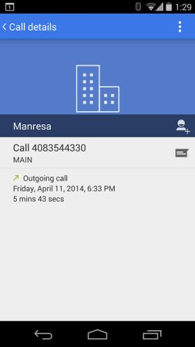 Marcador rediseñado Android