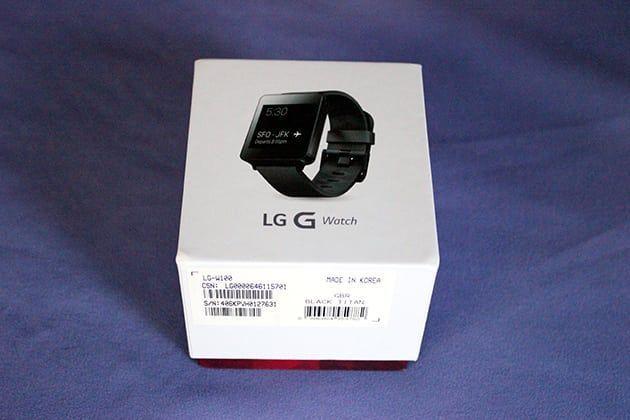 LG G Watch portada
